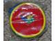 Gear No: coinpurse03  Name: Coin Purse, Round with Three Bricks Patch