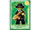 Gear No: ctw004FR  Name: Create the World Trading Card #004  Le joueur de Saxophone (French)