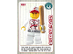 Gear No: ctw014  Name: Create the World Trading Card #014 Baseball Player