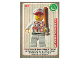 Gear No: ctw016FR  Name: Create the World Trading Card #016 Le Joueur De Base-Ball (French)