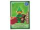 Gear No: ctw018FR  Name: Create the World Trading Card #018 Lutin De Noël (French)