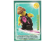 Gear No: ctw026FR  Name: Create the World Trading Card #026 La Surfeuse (French)