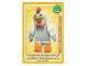 Gear No: ctw046FR  Name: Create the World Trading Card #046 L'Homme Déguisé En Poulet (French)