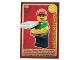 Gear No: ctw062FR  Name: Create the World Trading Card #062 Le Livreur De Pizzas (French)