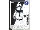 Gear No: ctw066  Name: Create the World Trading Card #066 Sad Clown