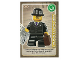 Gear No: ctw066FR  Name: Create the World Trading Card #066 L'Homme D'Affaires (French)