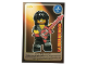 Gear No: ctw076FR  Name: Create the World Trading Card #076 La Star Du Rock (French)