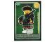 Gear No: ctw077FR  Name: Create the World Trading Card #077 Le Joueur De Cornemuse (French)