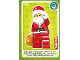 Gear No: ctw078  Name: Create the World Trading Card #078 Santa