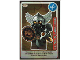 Gear No: ctw079FR  Name: Create the World Trading Card #079 Le Nain Guerrier (French)
