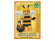 Gear No: ctw088FR  Name: Create the World Trading Card #088 La Fille Abeille (French)