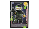 Gear No: ctw102FR  Name: Create the World Trading Card #102 Le Joueur De Paint-Ball (French)