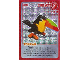Gear No: ctw103  Name: Create the World Trading Card #103 Create: Toucan