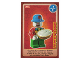 Gear No: ctw103FR  Name: Create the World Trading Card #103 Le Petit Clown (French)