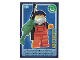 Gear No: ctw104FR  Name: Create the World Trading Card #104 Le Pêcheur (French)
