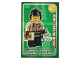 Gear No: ctw111FR  Name: Create the World Trading Card #111 L'Agent De Circulation (French)