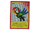 Gear No: ctw115FR  Name: Create the World Trading Card #115 Create: Perroquet (French)