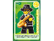 Gear No: ctw117  Name: Create the World Trading Card #117 Saxophone Player