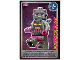 Gear No: ctw120FR  Name: Create the World Trading Card #120 La Femme Robot (French)