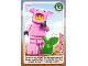 Gear No: ctw131  Name: Create the World Trading Card #131 Piggy Guy