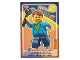 Gear No: ctw143FR  Name: Create the World Trading Card #143 Hugo (French)