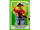 Gear No: ctwII007  Name: Create the World Incredible Inventions Trading Card #007 Lumberjack
