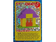 Gear No: ctwII009  Name: Create the World Incredible Inventions Trading Card #009 Create: Yellow Hut
