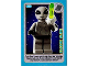 Gear No: ctwII017  Name: Create the World Incredible Inventions Trading Card #017 Classic Alien