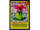 Gear No: ctwII020  Name: Create the World Incredible Inventions Trading Card #020 Create: Purple Flower