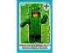 Gear No: ctwII023  Name: Create the World Incredible Inventions Trading Card #023 Cactus Girl