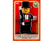 Gear No: ctwII025  Name: Create the World Incredible Inventions Trading Card #025 Magician