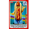 Gear No: ctwII038  Name: Create the World Incredible Inventions Trading Card #038 Hot Dog Guy