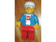 Gear No: displayfig01  Name: Display Figure 7in x 11in x 19in (blue jacket, red pants, white T-Shirt with Lego logo, construction helmet)