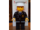 Gear No: displayfig12  Name: Display Figure 7in x 11in x 19in (black jacket, black pants, white hat, Police)