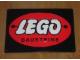 Gear No: displaysign002  Name: Display Sign Large LEGO Logo Round Bausteine, Metal