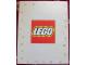 Gear No: displaysign004  Name: Display Sign LEGO Logo Paperboard