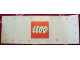 Gear No: displaysign005  Name: Display Sign LEGO Logo Paperboard Wide