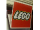 Gear No: displaysign017  Name: Display Sign LEGO Logo, Hanging Hinge, Double-Sided