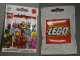 Gear No: displaysign034  Name: Display Sign Hanging, Collectible Minifigures Series 6 Bag