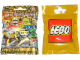 Gear No: displaysign047  Name: Display Sign Hanging, Collectible Minifigures Series 10 Bag