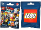 Gear No: displaysign050  Name: Display Sign Large Hanging, Collectible Minifigures The LEGO  Movie Bag