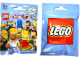 Gear No: displaysign056  Name: Display Sign Hanging, Collectible Minifigures The Simpsons Bag