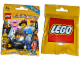 Gear No: displaysign068  Name: Display Sign Hanging, Collectible Minifigures Series 12 Bag