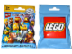 Gear No: displaysign071  Name: Display Sign Large Hanging, Collectible Minifigures The Simpsons Series 2 Bag