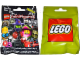 Gear No: displaysign076  Name: Display Sign Large Hanging, Collectible Minifigures Series 14 Bag