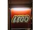 Gear No: displaysignLt04  Name: Display Sign Medium LEGO Logo, Lighted (220V)