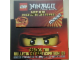 Gear No: dispshelf04  Name: Display Shelf Stand for Ninjago Mini Comic Books, Cardboard (4639050-FR)