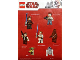 Gear No: gstk095  Name: Sticker, Star Wars Minifigure Sheet - Sunday Mirror Promotional