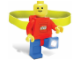 Gear No: headlamp1  Name: Head Lamp, Minifigure LED Headlamp Torch - Red Torso