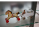 Gear No: horsecarriage  Name: Wooden Horse and Milk Carriage